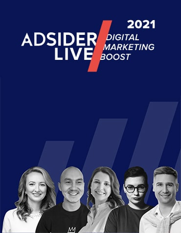 Adsider LIVE / Digital Marketing Boost! — онлайн-конференция